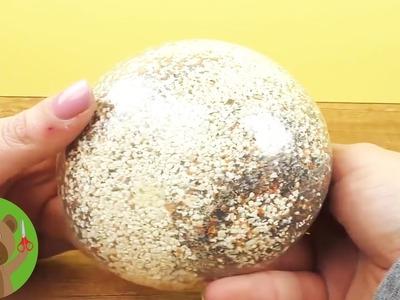 Piłeczka antystresowa | DIY fail | piłeczka z piaskiem ozdobnym
