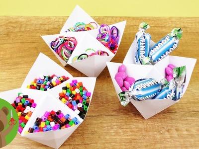 Pudełko na słodycze lub materiały DIY | piełko niebo | prosty pomysł