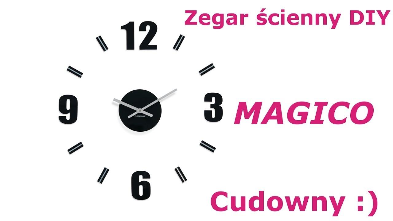 Zegar ścienny DIY Magico