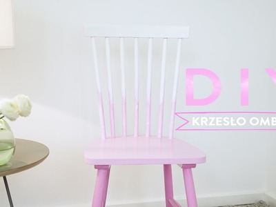Styl ombre w domu: krzesło | WESTWING DIY