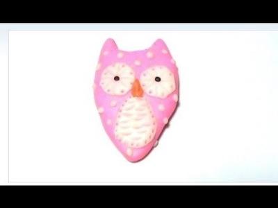 Różowa Sówka ♥ TUTORIAL♥